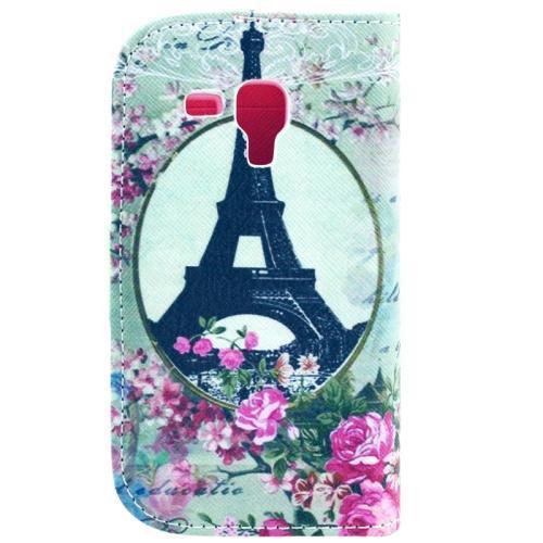 Eiffeltornet - Plånbok till Samsung Galaxy Trend Duos
