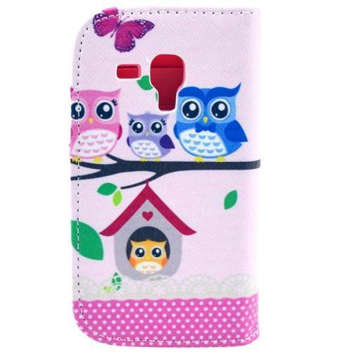 Uggle familj - Plånbok till Samsung Galaxy Trend Duos