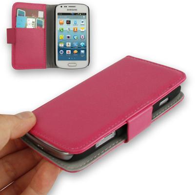 Litchi plånbok till Samsung Galaxy Trend Duos