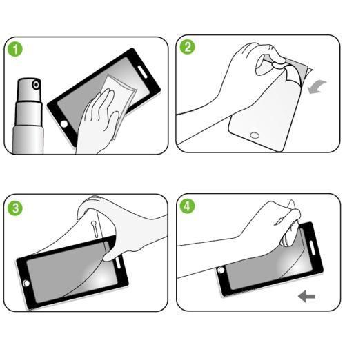 ScreenGuard 100-clear - skärmskydd till Sony Xperia Z2
