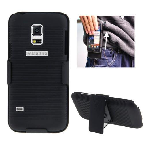 Samsung Galaxy S5 mini - 2i1 Mobilskal med bältesclip