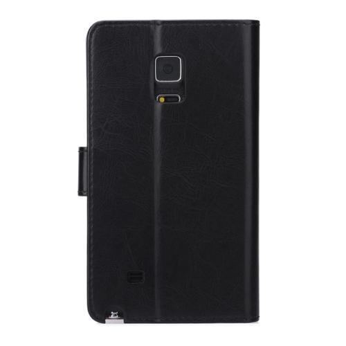 Plånbok av konstläder till Samsung Galaxy Note Edge