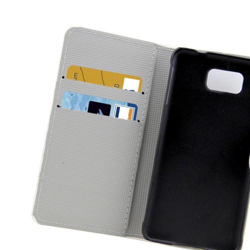 Plånbok med stödfunktion till Samsung Galaxy Alpha