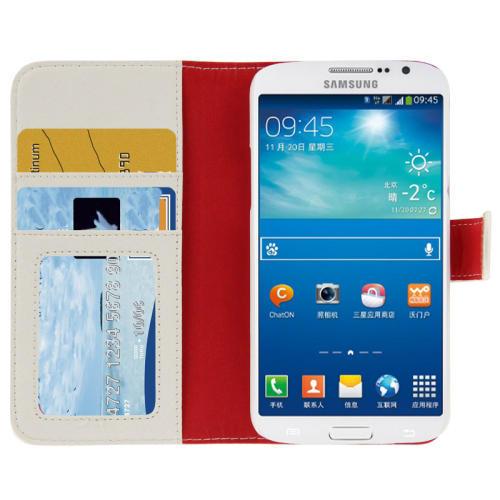 Plånbok av konstläder till Samsung Galaxy Grand 2