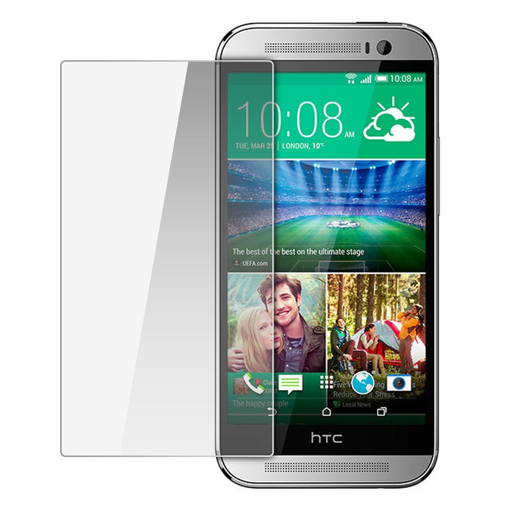 Härdat glas 0.3mm skärmskydd HTC One M8