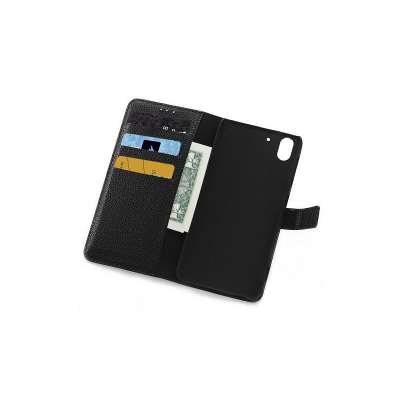 Plånbok med magnetlåsning till HTC Desire 816