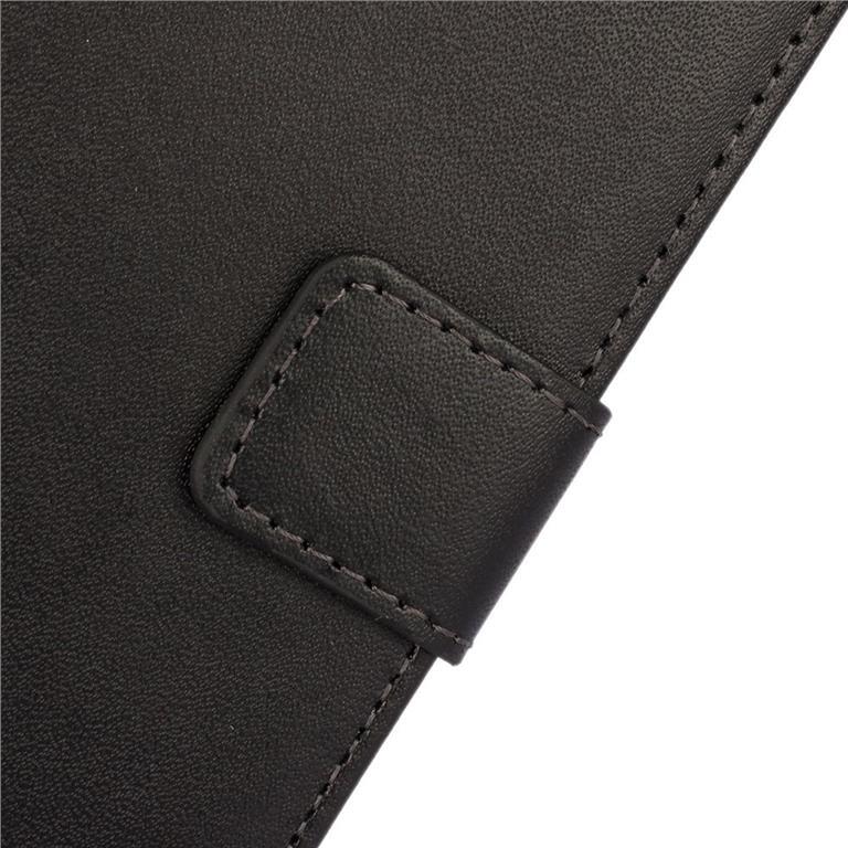 Plånbok av äkta koskinn för HTC ONE M9