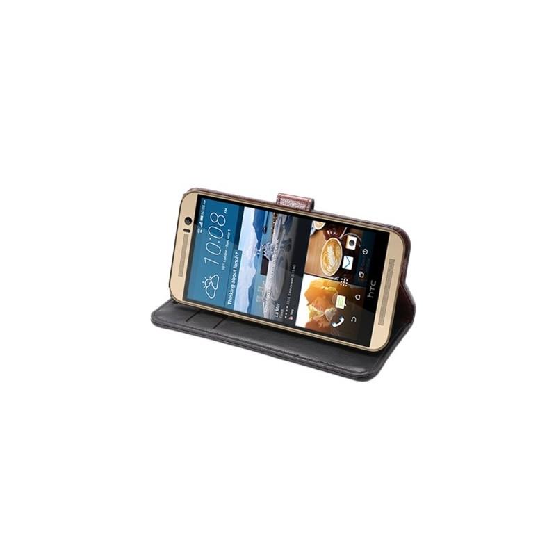 Plånbok med magnetlås till HTC One M9