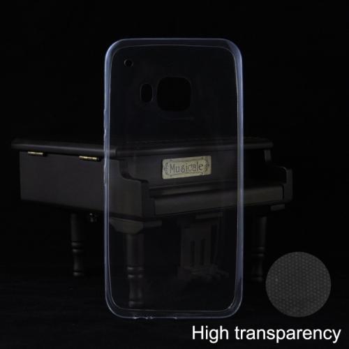 Supertunt skal 0,3mm i TPU till HTC One M9