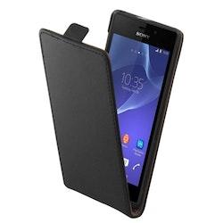 Vertikalt flipfodral till Sony Xperia Z3