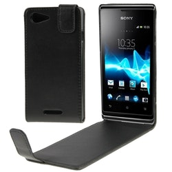 Vertikalt flipfodral till Sony Xperia E2