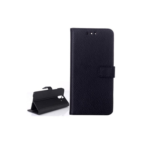 Plånbok av konstläder till HTC One E8