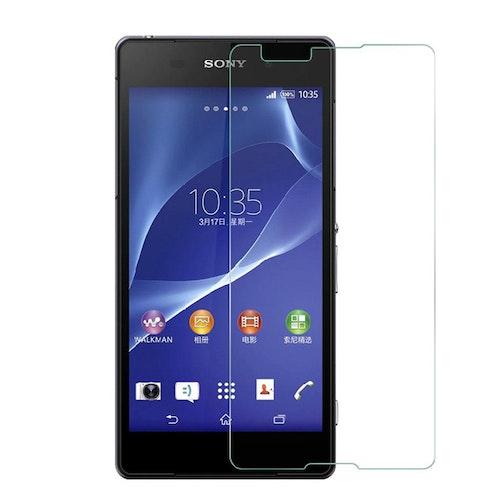 Härdat glas skärmskydd till Sony Xperia E4