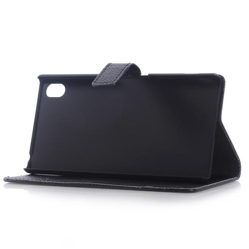 Sony Xperia Z3+ - Plånbok av konstläder med stöd
