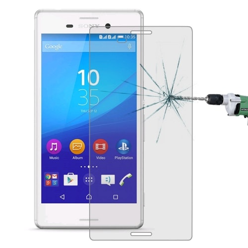 Sony Xperia M4 Aqua - Härdat glas skärmskydd