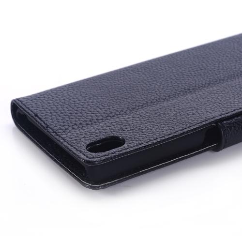 Plånbok med magnetlås för Sony Xperia M4 Aqua