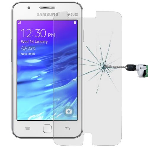 Härdat glas skärmskydd för Samsung Z1, Z130