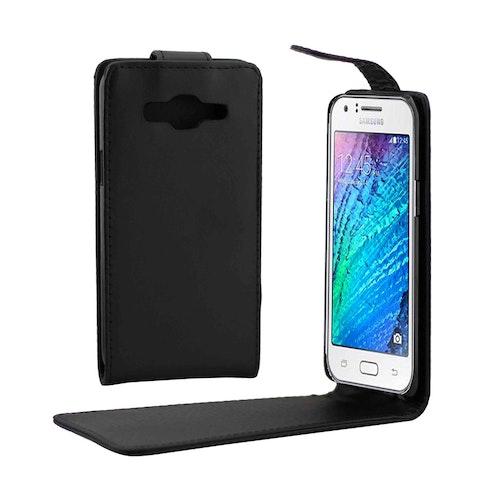 Flipp fodral med magnetlås för Samsung Galaxy J5