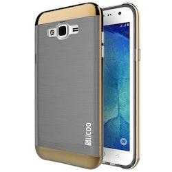 Silcoo - Kombinationsskal för Samsung Galaxy J1