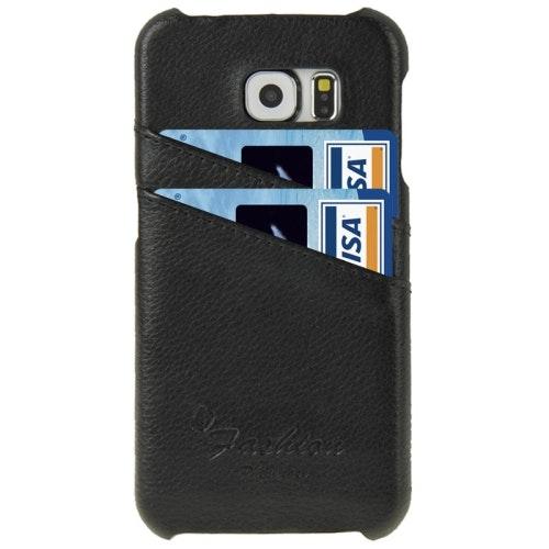 Mobilskal i Äkta Läder till Samsung Galaxy S6 Edge