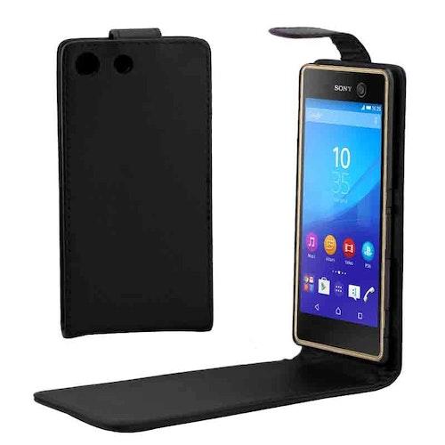 Vertikalt Flippfodral för Sony Xperia M5