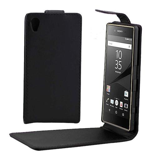 Vertikalt Flippfodral för Sony Xperia Z5