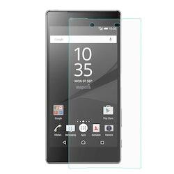 Härdat glas skärmskydd med fasad kant för Sony Xperia Z5
