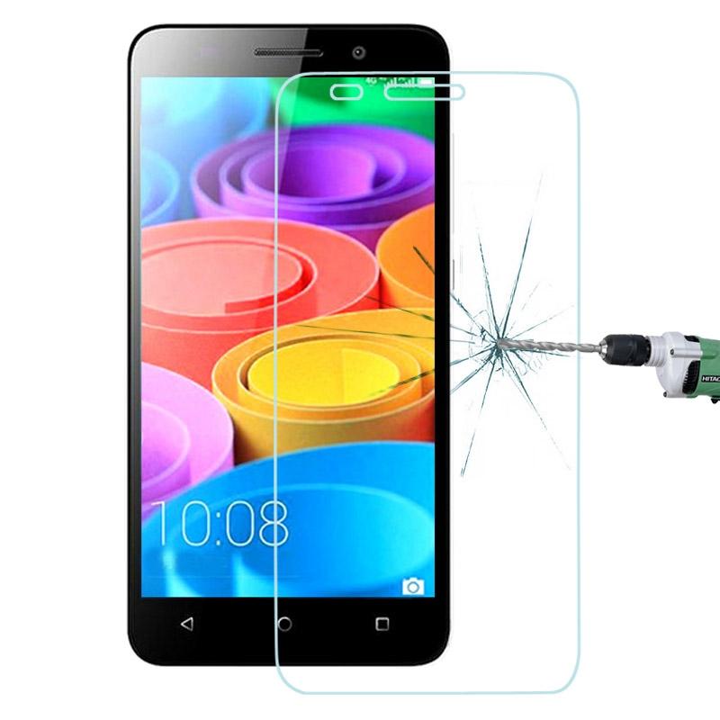 Härdat glas skärmskydd med fasad kant för Huawei Honor 4X