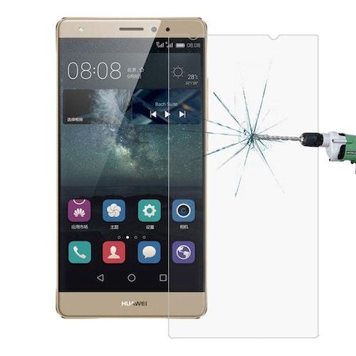 Härdat glas skärmskydd med fasad kant för Huawei Mate S