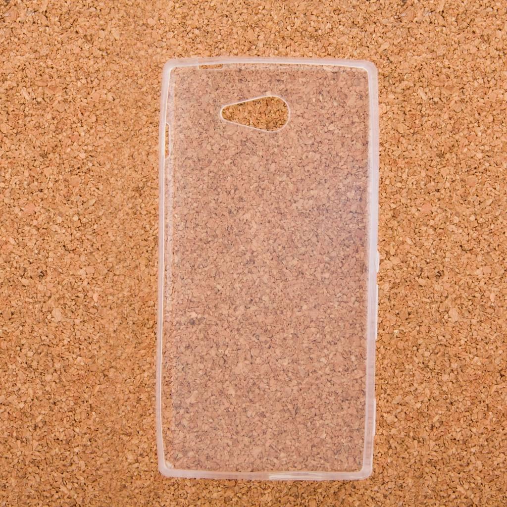 Transparent TPU-skal för Sony Xperia M2