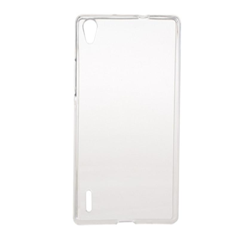 Transparent TPU-skydd för Huawei Ascend P7