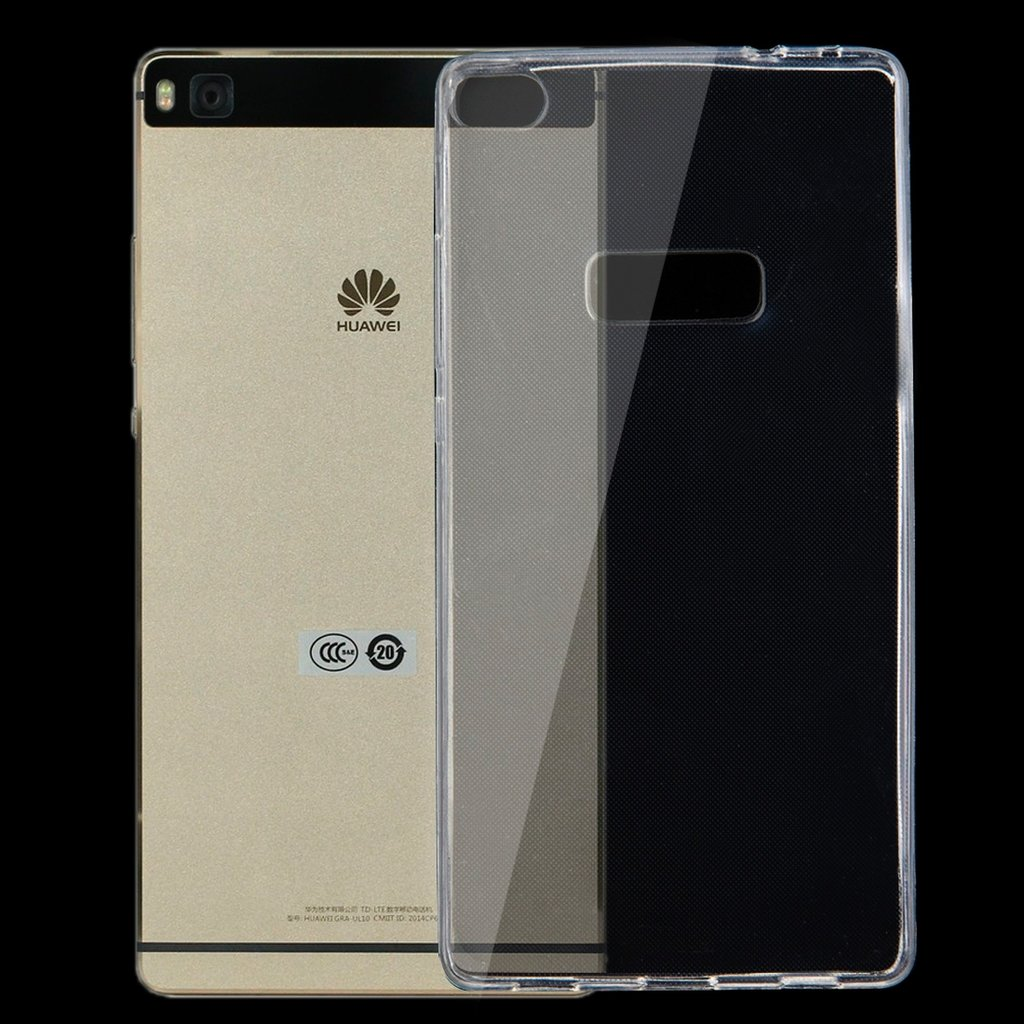 Transparent TPU-skydd för Huawei P8