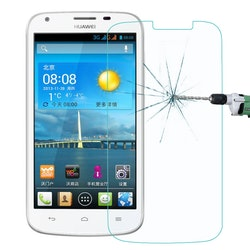 Härdat glas skärmskydd för Huawei Ascend Y600