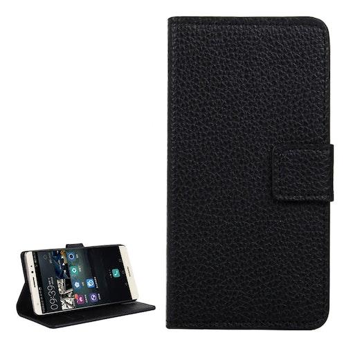 Plånbok i konstläder för Huawei Mate S