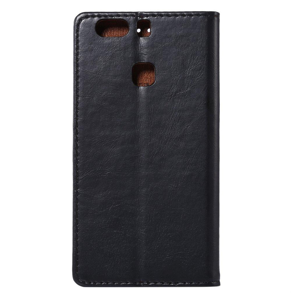 Plånbok av PU-läder & TPU-skydd för Huawei P9 Plus