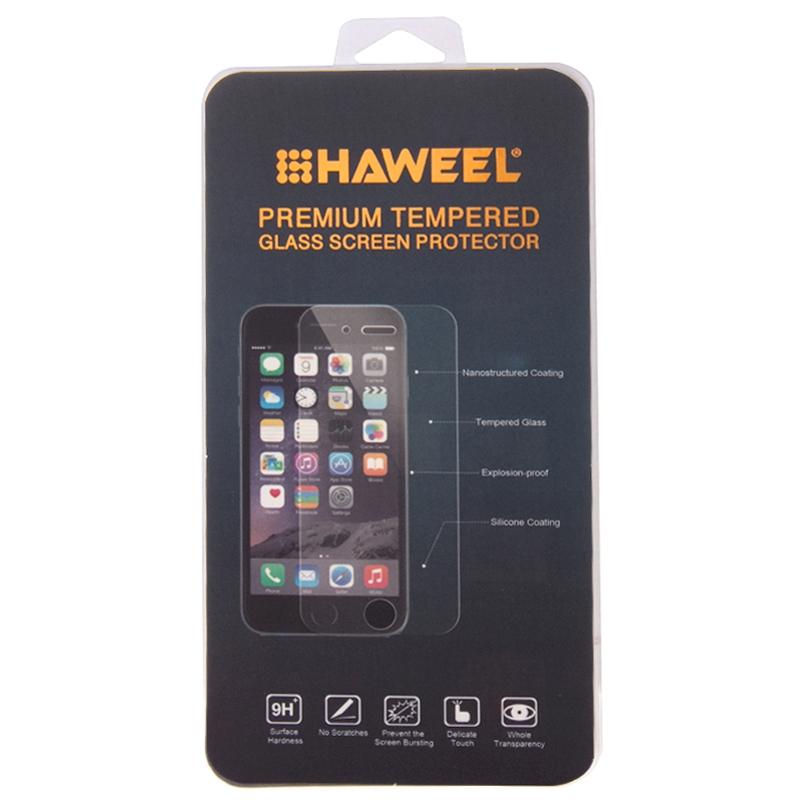Härdat glas skärmskydd med fasad kant för Huawei Ascend P7