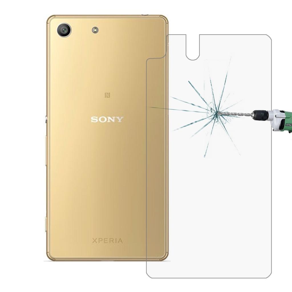 HAWEEL - Härdatglas till baksidan Sony Xperia M5