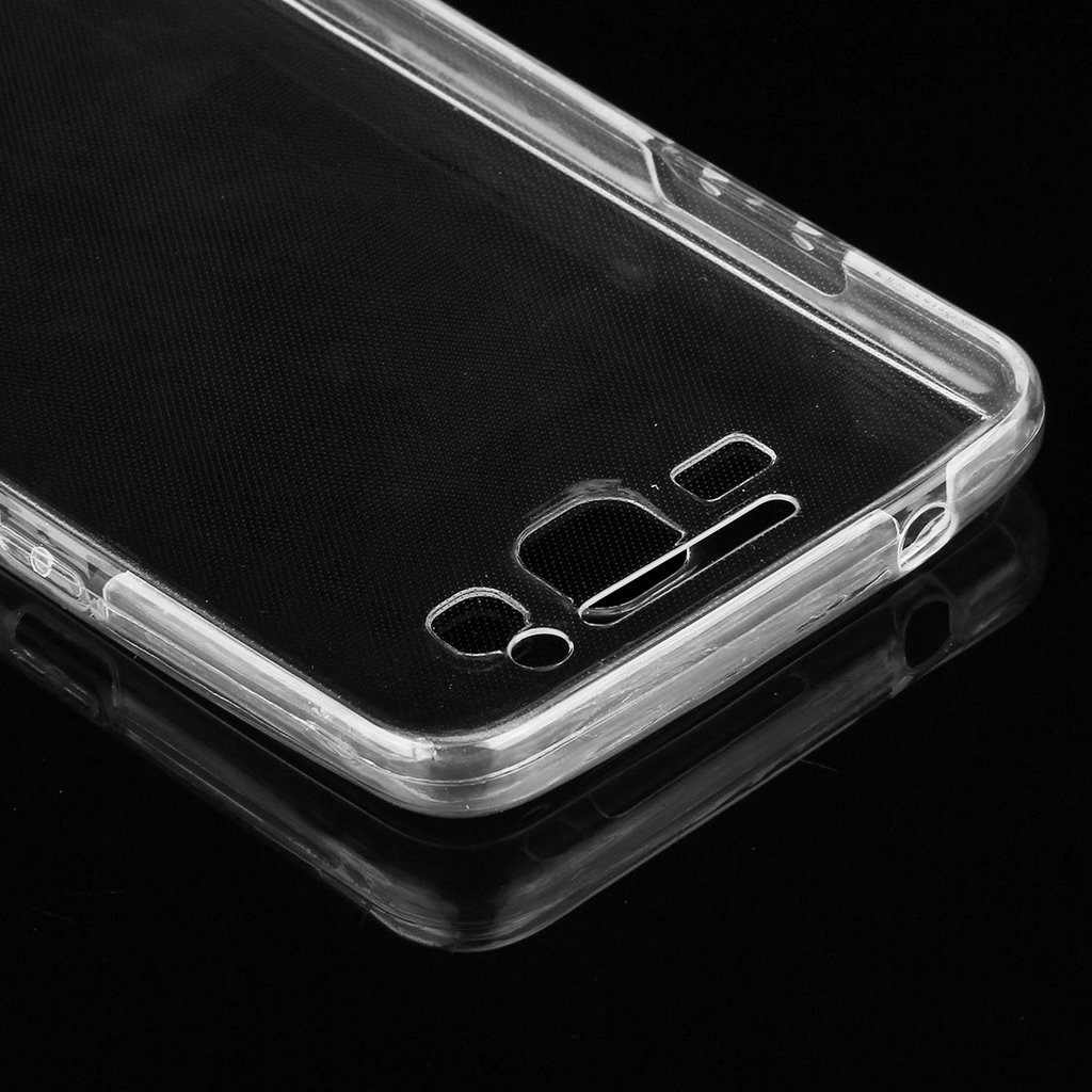Transparent TPU skal för Samsung Galaxy Grand Prime