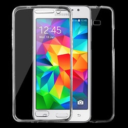 Transparent TPU skal för Samsung Galaxy Grand Prime