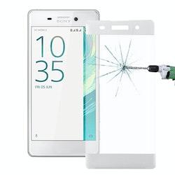 Heltäckande glas skärmskydd till Sony Xperia XA