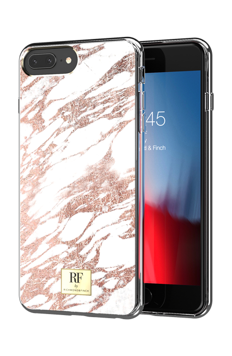 Richmond & Finch -ROSE GOLD MARBLE- iPhone 7/8 plus