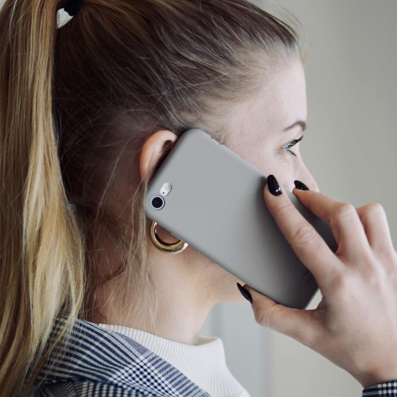 Holdit- MOBILSKAL SILIKON TAUPE- iPhone 7/8  Plus