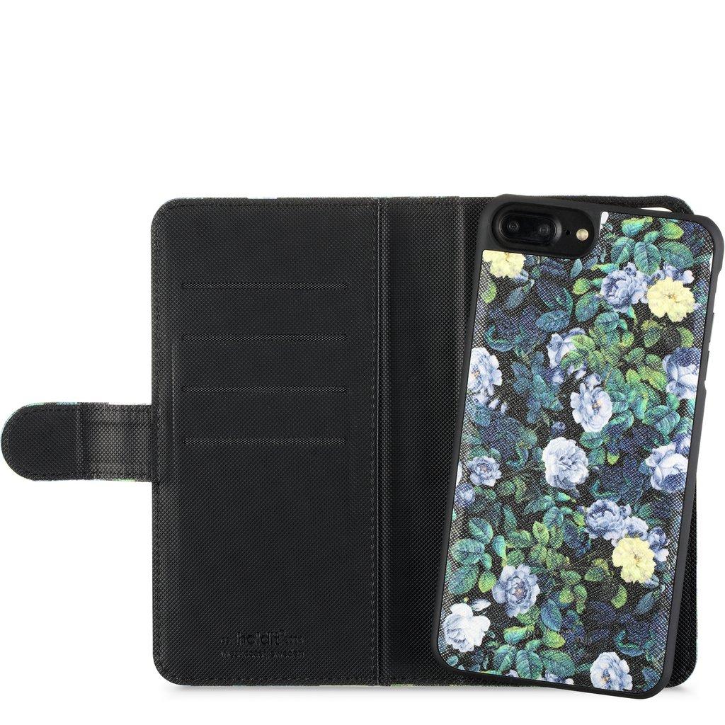 Holdit- iPhone 6 / 6s Plus- Plånbok m magnelskal SPRING BLOSSOM