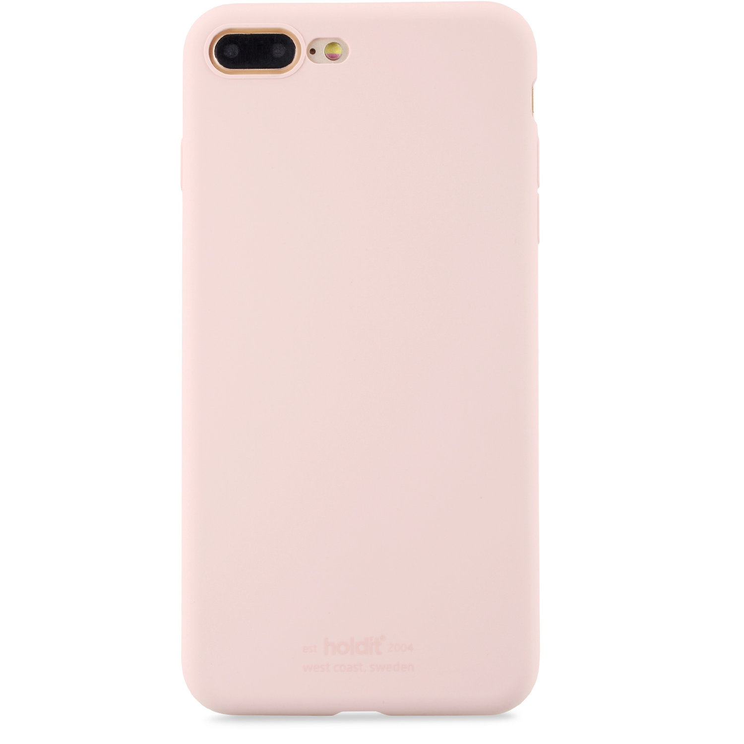 Holdit- MOBILSKAL SILIKON BLUSH PINK- iPhone 7/8 Plus