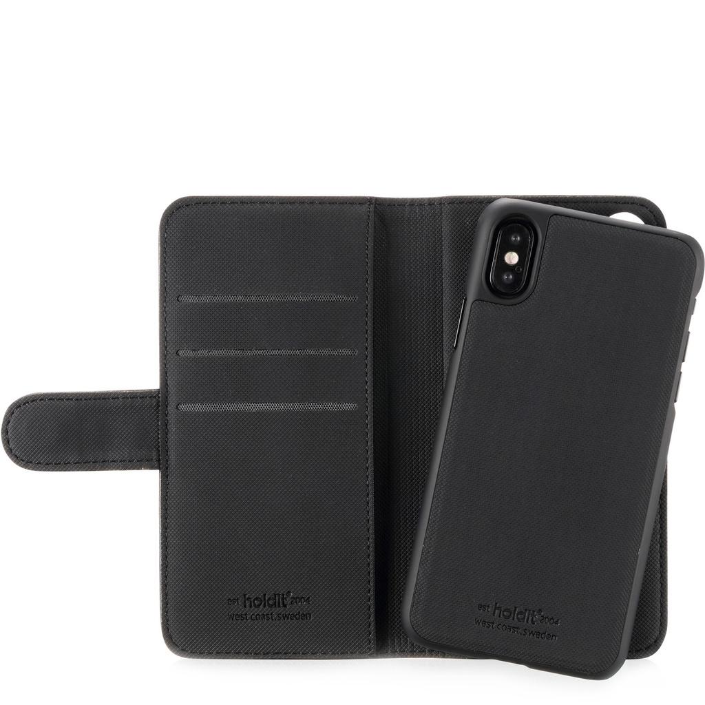 Holdit- iPhone X- Plånbok med magnetskal
