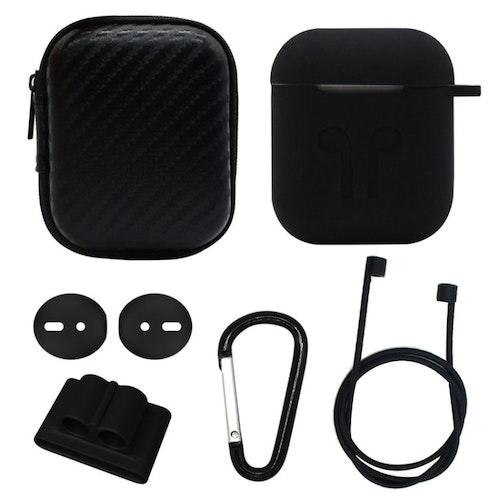 AirPods skyddande väska 5in1