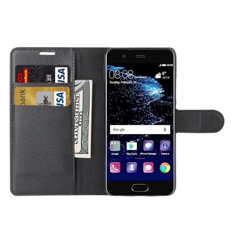 Plånbok  med 3 kortfack- Huawei P10