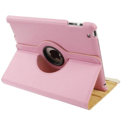 Roterbart läderfodral till Apple iPad 2/3/4