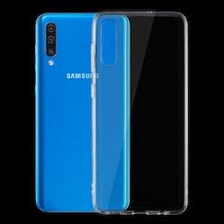 Transparent skal i TPU- Samsung Galaxy A50