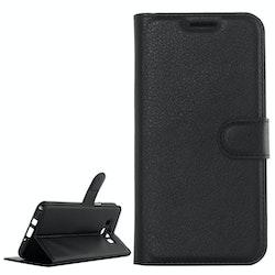 Plånbok i konstläder för Samsung Galaxy J5 (2016)